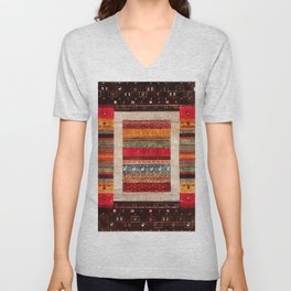 N119 - HQ Oriental Lovely Traditional Moroccan Style Artwork Unisex V-Neck