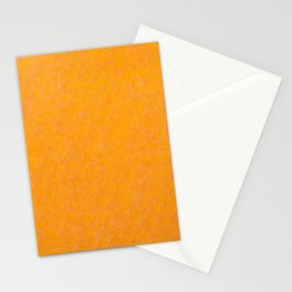 Yellow orange material texture abstract Stationery Cards