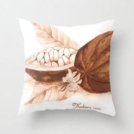 Cacao Throw Pillow