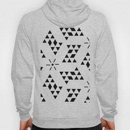 Triangle slide Pattern Hoody