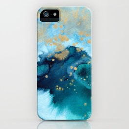 Ocean Dream - Abstract Watercolor Painting iPhone Case