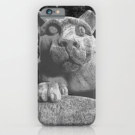 Penn State University Nittany Lion Print iPhone Case