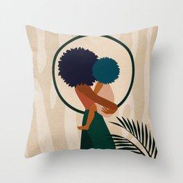 Stay Home No. 3 Throw Pillow