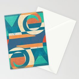 Mountains and Waves Stationery Cards