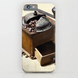coffee grinder 6 iPhone Case