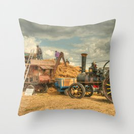 Dorset Threshing Throw Pillow