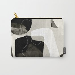 moon shine abstract art Carry-All Pouch