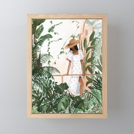 Peaceful Morocco Framed Mini Art Print