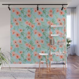 Summer Blooms | Original Palette Wall Mural
