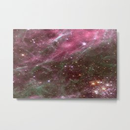 Tarantula Nebula Stars Metal Print