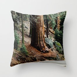 giant sequoia i Throw Pillow