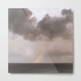 rainbow ocean Metal Print