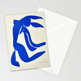 Blue Nude Dancing - Henri Matisse Stationery Cards