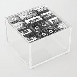 Something Nostalgic - black and white #decor #society6 #buyart Acrylic Box