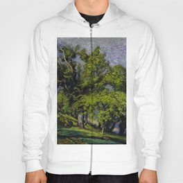 Chestnut Trees above a River Hoody
