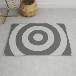 Target (Gray & Grey Pattern) Rug
