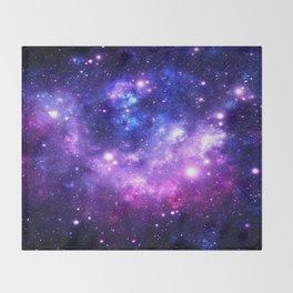 Purple Blue Galaxy Nebula Decke