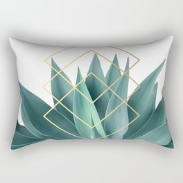 Agave geometrics Rectangular Pillow