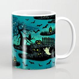 Halloween Night - Fox Fire Green Kaffeebecher