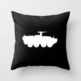 M1126 Stryker Throw Pillow
