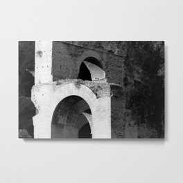 Arches Palatine Hill Rome Metal Print