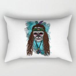 Juliette Style Errorface Skull Rectangular Pillow