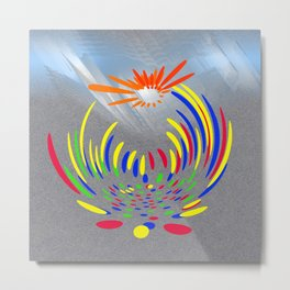 Power of colours Metal Print