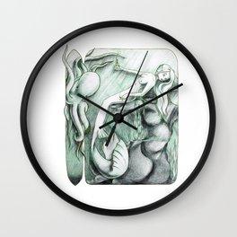 Sea Break Wall Clock
