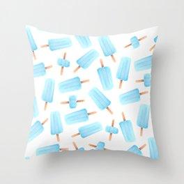 Sea Salt Ice Cream Throw Pillow