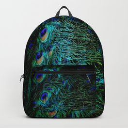 Peacock Details Backpack