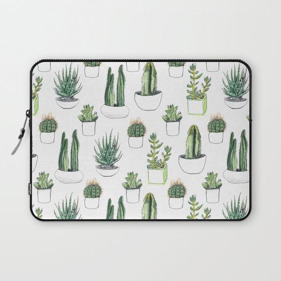 Watercolour Cacti & Succulents by crumpetsandcrabsticks