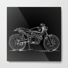 Cabin Fever XR650 Metal Print