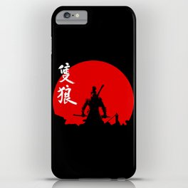 The One Armed Wolf iPhone Case