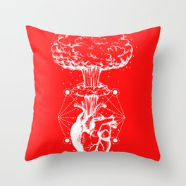 Star heart explosion night constellation gift Throw Pillow