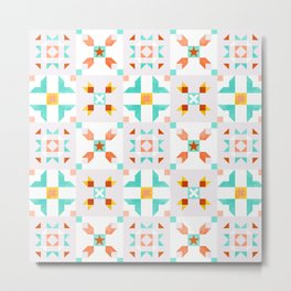 Moroccan pattern no 5 Metal Print