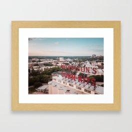 Morrison's Corn-Kits in Denton, TX Framed Art Print