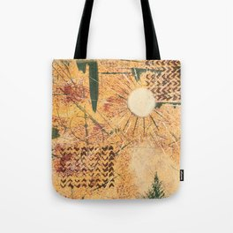 Golden Northtwest Tote Bag