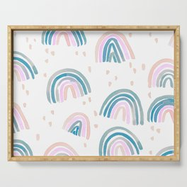 Rainbow Chroma Pastel Serving Tray