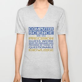COMPUTER SCIENCE Unisex V-Neck