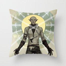 Judgement Throw Pillow