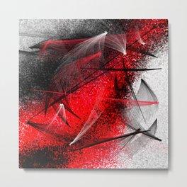 under the spotlight abstract digital painting Metal Print