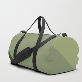 Pine Moss Sage Diagonal  Duffle Bag