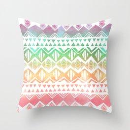 Tribal Sunrise Throw Pillow