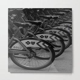 Rent A City Ride Metal Print
