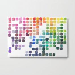 Favorite Colors Metal Print