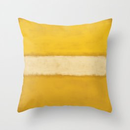 Rothko Inspired #13 Throw Pillow