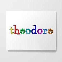 theodore Metal Print