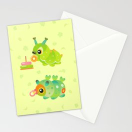 Baby Caterpillar Stationery Cards