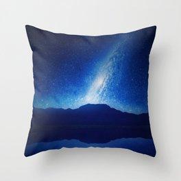 When The World Falls Down Throw Pillow