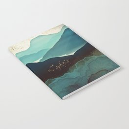 Indigo Mountains Notebook